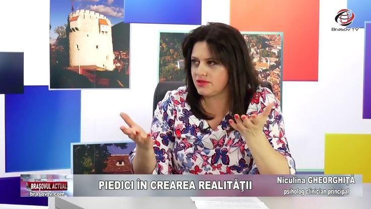 """""""Piedici în crearea realității"""", Brașovul Actual, 14.05.2018, Niculina G..."""