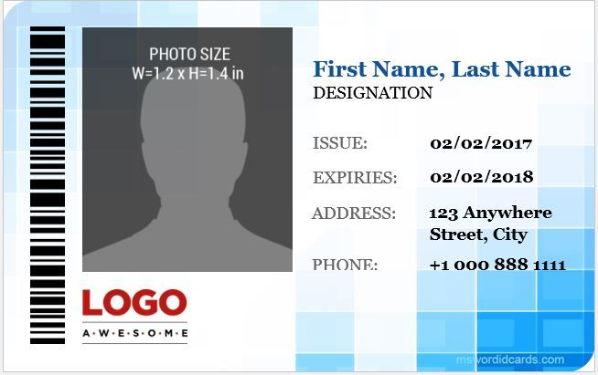 Corporate Professional Id Cards Download Athttp Mswordidcards Com 5 Best Corporate Professional Id Cards Id Card Template Badge Template Microsoft Word Free