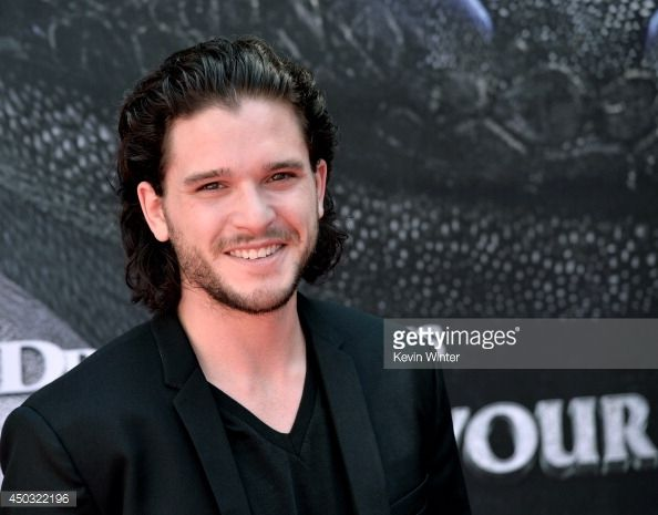 Actor Kit Harington arrives at the premiere of Twentieth Century Fox... News Photo | Getty Images
