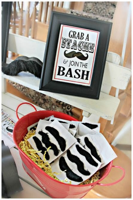 Mustache Party Ideas #Movember