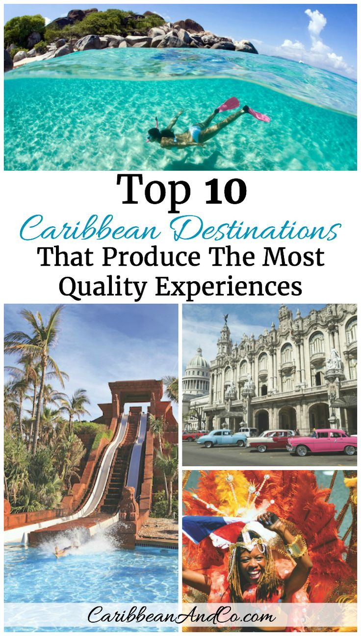 Planning your next Caribbean vacation and not sure where to visit?  Find out which are the top 10 Caribbean destinations that produce the most quality experience overall.  The list was created by Resonance Consultancy using 18 different data points.