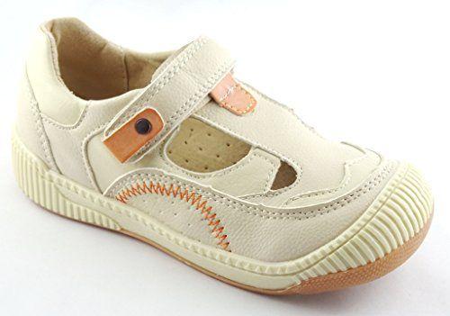 JUNGEN FREIZEITSCHUHE SANDALETTE BEIGE -innen LEDER -92608 - http://on-line-kaufen.de/norn/jungen-freizeitschuhe-sandalette-beige-innen