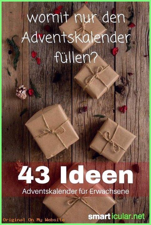 Gift Boyfriend Unique – ideas for filling the advent calendar for your partner, parents or …