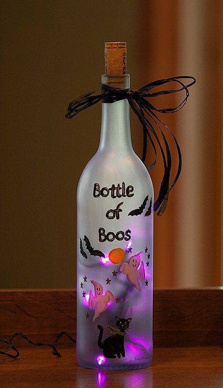 332 best images about diy up cycled wine bottles on for Wine bottle night light diy