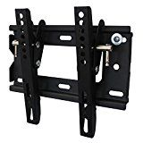 "Soporte de pared para TV / monitor en negro inclinable 12° para Magnavox 32"" 32MV306X - http://themunsessiongt.com/soporte-de-pared-para-tv-monitor-en-negro-inclinable-12-para-magnavox-32-32mv306x/"