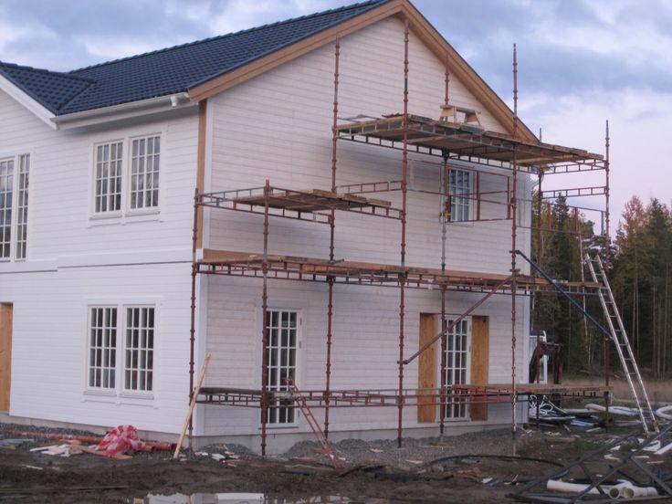Bildresultat för liggande panel fasad