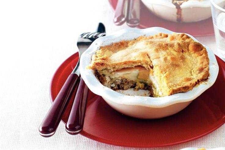 Hartige taartjes met prei, ei en bacon - Recept - Allerhande