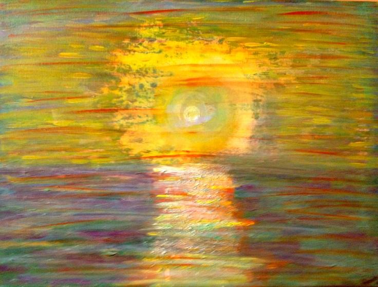 """""""Luna Llena"""" .... Junio 2012  visita mi sitio web: www.arteracines.tk   Facebook: Arte Racines"""