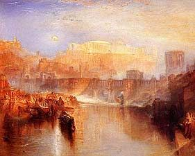Agrippina Landing with the Ashes of Gemanicus - Joseph Mallord William Turner, 1775-1851 - OldMastersOnline.com