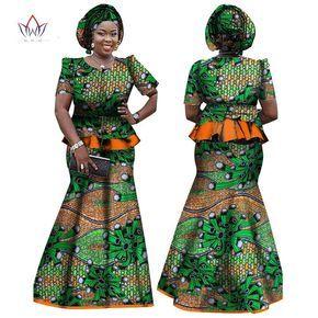 Dasheki African Women Clothing African 2 piece skirt and top set