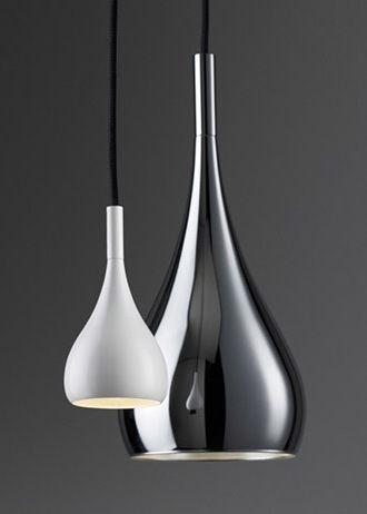 Metal Pendant Lights | lighting . Beleuchtung . luminaires | Design: Fabbian |