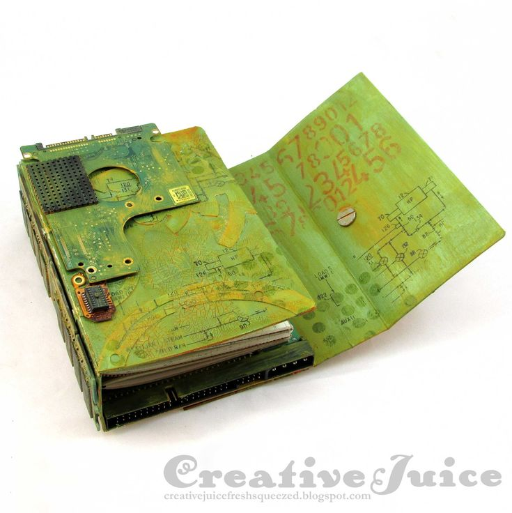 Lisa Hoel for Eileen Hull – Creativation 2018, Book Club Chapter 2 Sizzix die collection. This is the fabulous Wrap Journal Die!