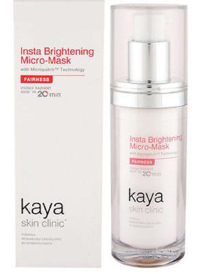 Insta Brightening Micro Mask Skin Lighter completely Kaya Skin Natural 15 ml #NewDealsindia