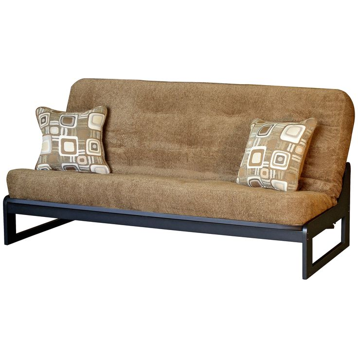 Twin Futon Chair Size Mattress With Pillow