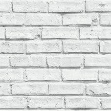 Arthouse Wallpaper White Brick