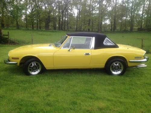 1973 Triumph Stag (oh yummy!) my car that got away,love it.