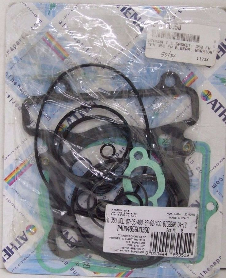 ATHENA O4004585600350 TOP END GASKET KIT YAMAHA YFM350 /400/BIG BEAR | eBay Motors, Parts & Accessories, ATV Parts | eBay!