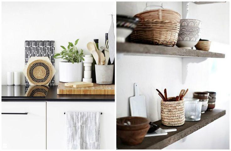 Organizatory na akcesoria kuchenne. - zdjęcie od cleo-inspire - Kuchnia - Styl Skandynawski - cleo-inspire
