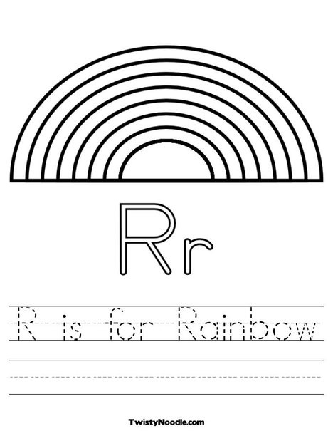 1000 images about coloring pages on pinterest rainbow for Rainbow coloring page for preschool