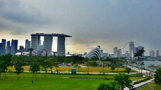 Skyline, Singapore, 130310