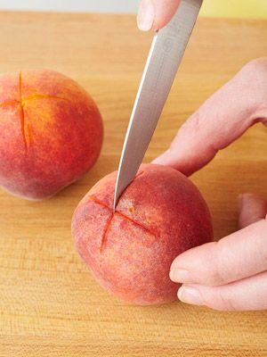 Enjoy fresh peaches any time! How to Freeze Peaches #bhgsummer