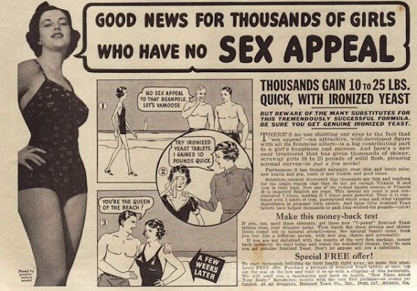 vintage weight loss advertisement