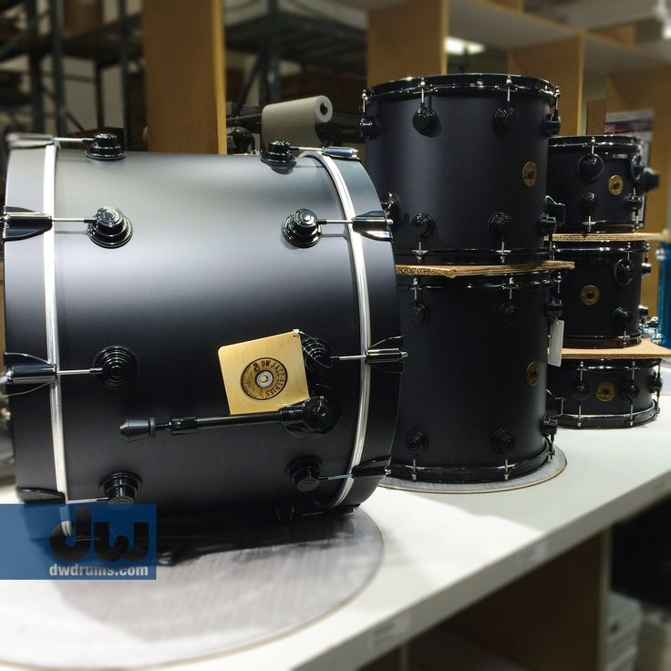 Hard Satin Darth Vader Black. #dwdrums #thedrummerschoice