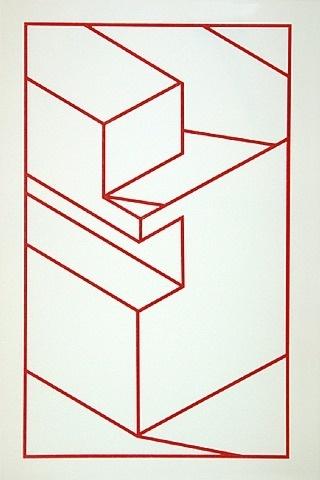 Robert Cottingham, Component X (red line)