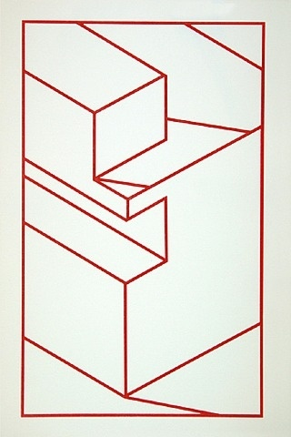 Robert Cottingham, Component X (red line)