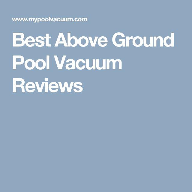 Best 25 Above Ground Pool Vacuum Ideas On Pinterest Above Ground Pool Landscaping Swimming
