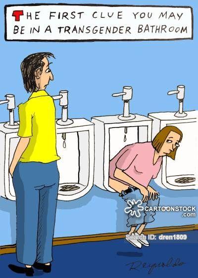 Image result for political comics..restrooms