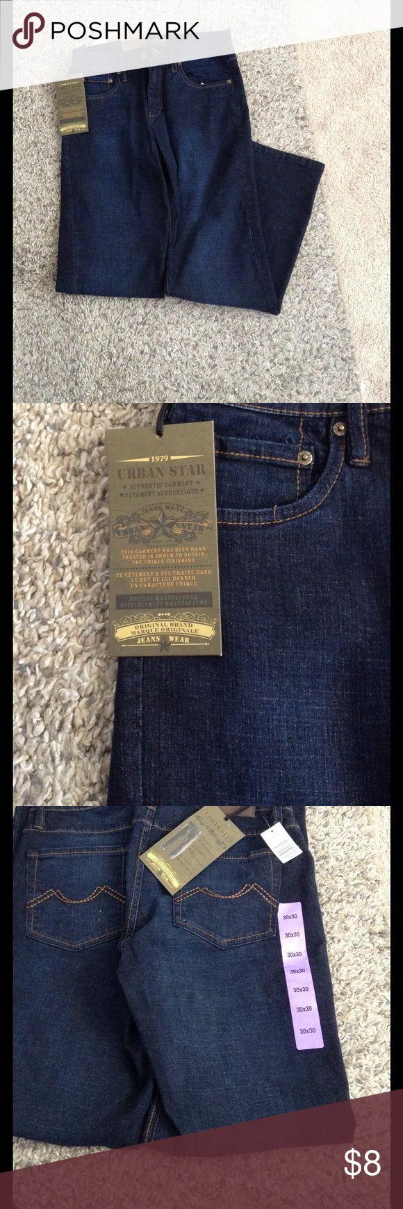 💕💕Dark Wash Jeans!💕💕 Brand new pair of Urban Star dark wash jeans!! Dark denim regular fit. Authentic garment! urban star Jeans Relaxed