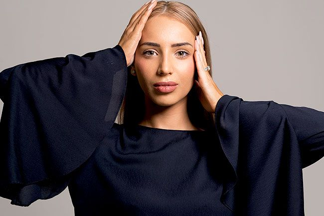 Michelle Aznavorian - the brains behind Melbourne fashion label Misha Collection. Photo: Supplied