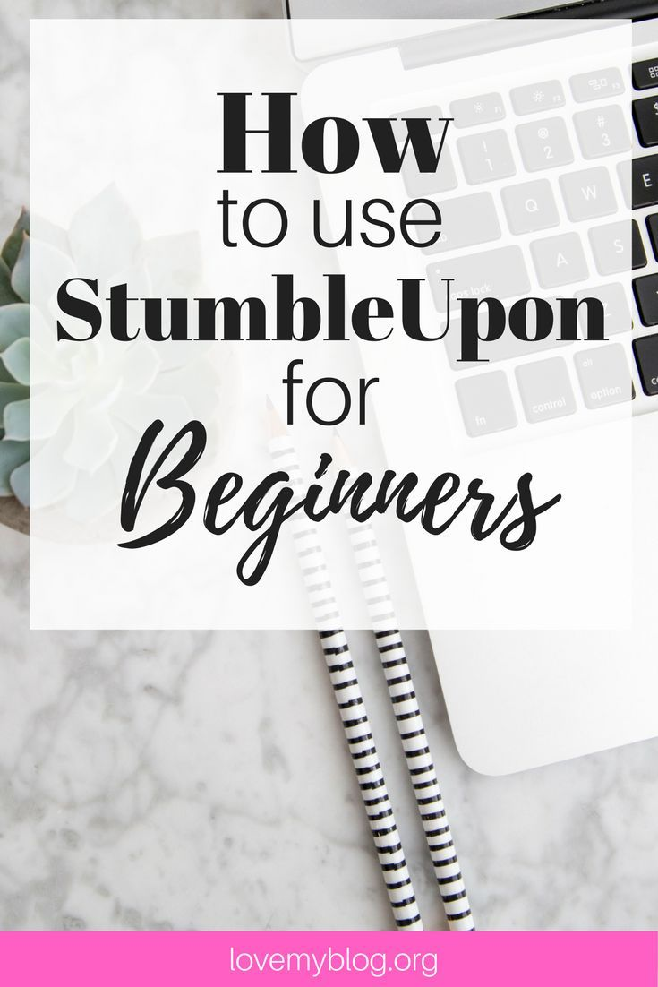 How to use Stumbleupon for Beginners. If you want a great way to increase traffic to your Blog, StumbleUpon is a brilliant (often overlooked) tool.