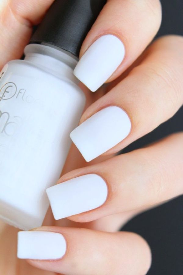 cool 10 Chic White Nail Trend Ideas , The best chic white nail color trends to i…