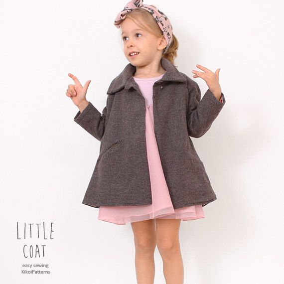 361 best Sewing: Little Girls Coats images on Pinterest