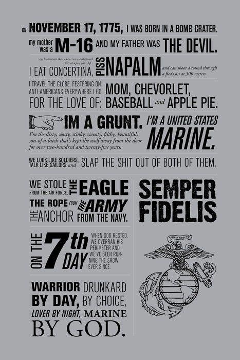 That's my Marine