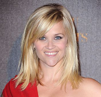 Reese long bob with swept bang