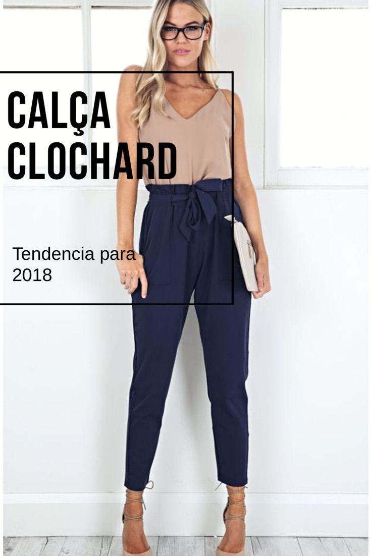 17017bf92227cf Tendência: Como usar a calça clochard | moda | Calca clochard, Calça ...