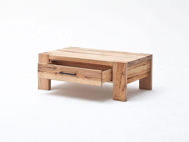 Stolik, ława z drewna dębowego Solid