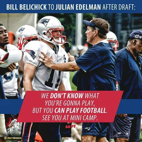 Share if you think Bill Belichick is a genius. Credit: NFL Network