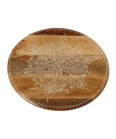 Love This Floral Lazy Susan On Zulily Zulilyfinds Dining Room