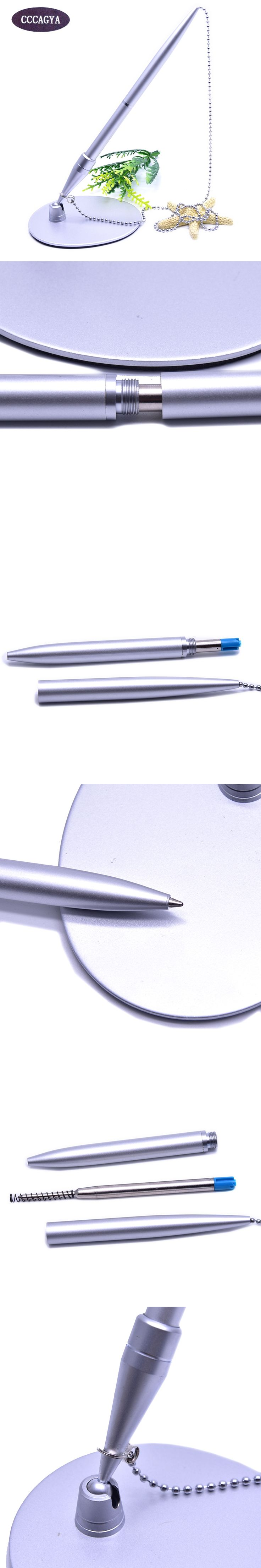 CCCAGYA C020 new arrival metal Base ball pen for Writing Stationery Office & School Pen Supplies Gift Business pens