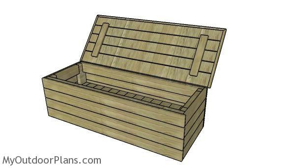 Modern Outdoor Storage Bench Plans Myoutdoorplans Free Woodworking Plans And Projects Di Outdoor Storage Bench Wooden Storage Bench Modern Outdoor Storage