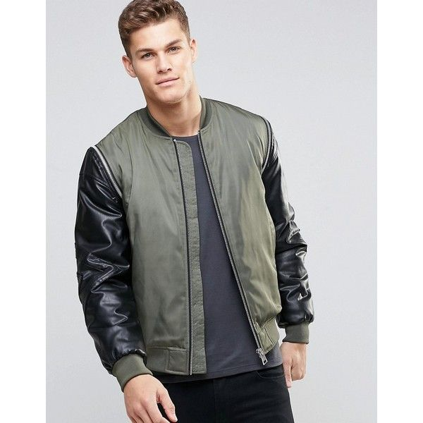 Best 25  Green bomber jacket mens ideas on Pinterest | Men fashion ...