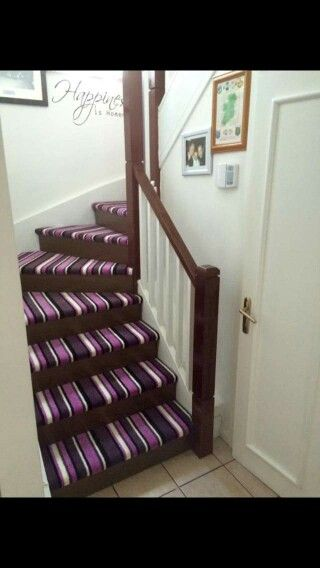 Stairs and banister rail