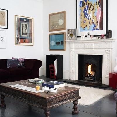 Moderne Wohnzimmer, Moderne Wohnräume, Wohnzimmer Bilder,  Kunstinstallationen, Moderne Kunst, Galerie, Haus, Beautiful Living Rooms,  White Fireplace