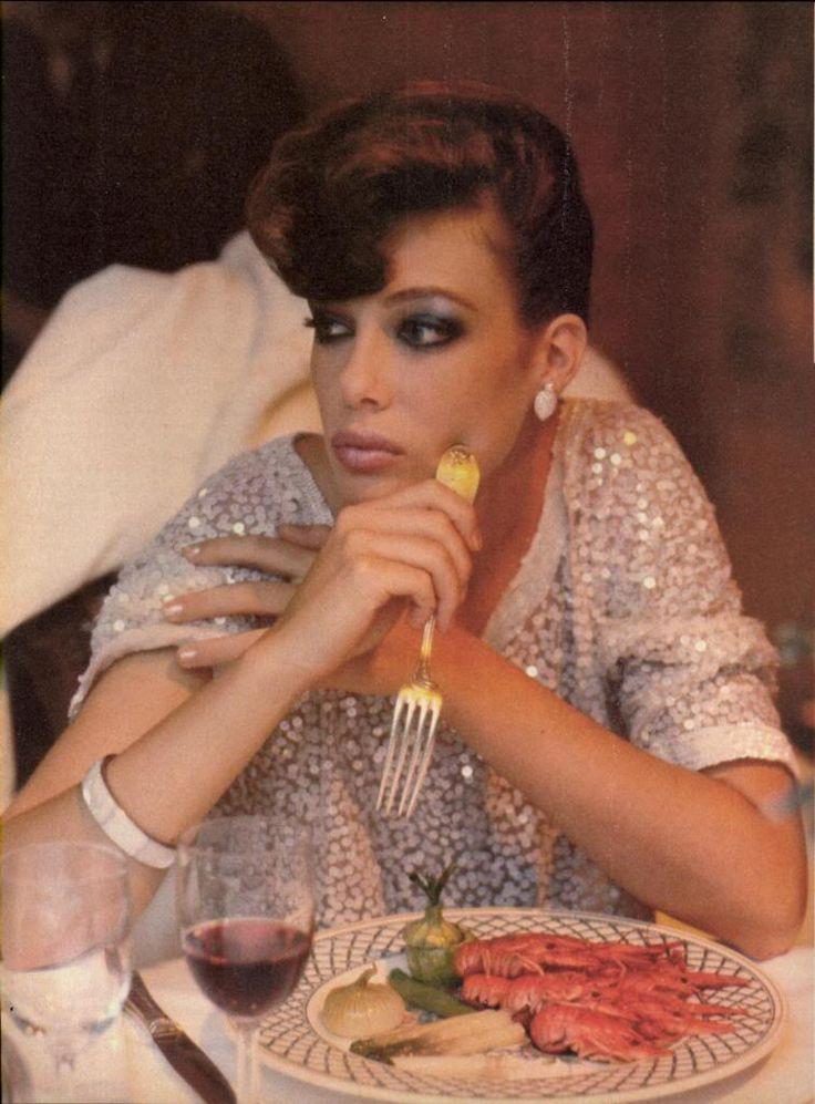 US Vogue October 1980 New Beauty: Balance the Senses... Photo Denis Piel Model Kelly LeBrock