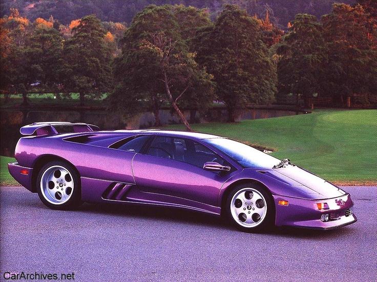 Purple Lamborghini Diablo Everything Purple Pinterest