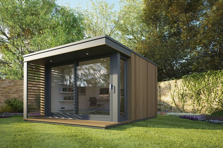 These pop up modular pods can add a garden studio or off grid